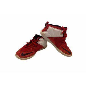 Toddlers size 10c Nike Lebron 12 Td Hyper U shoes